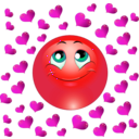 download Lover Boy Smiley Emoticon clipart image with 315 hue color