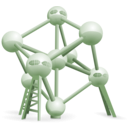 download Atomium Belgium clipart image with 45 hue color