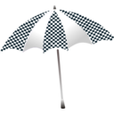 Chequered Umbrella
