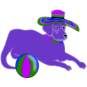 download Perruno clipart image with 225 hue color