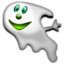 download Halloween Ghost 2 clipart image with 90 hue color