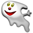download Halloween Ghost 2 clipart image with 0 hue color