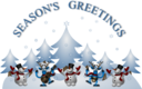 Seasons Greetings Card Front