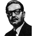 download Salvador Allende Greyscale 56th President Of The Senate Of The Republic Of Chile clipart image with 45 hue color