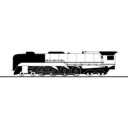download Steam Train clipart image with 225 hue color