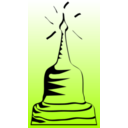 download Pagoda clipart image with 45 hue color