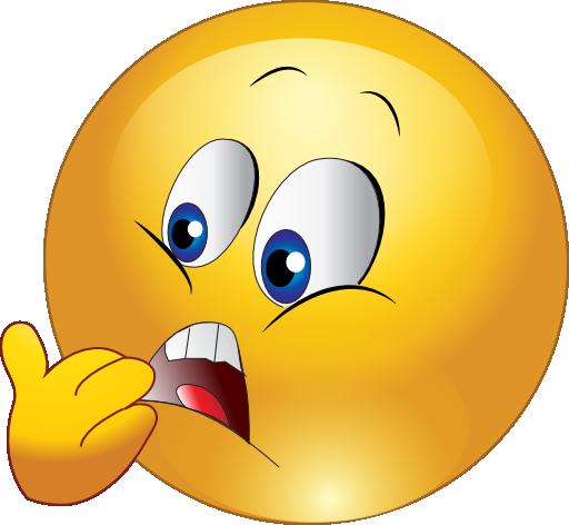 Scared Smiley Emoticon...
