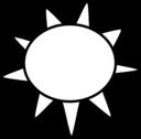 Sun Outline