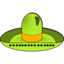 download Sombrero Dave Pena 01 clipart image with 45 hue color