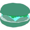 download Hamburger1 clipart image with 135 hue color