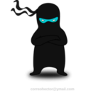download Ninja clipart image with 135 hue color
