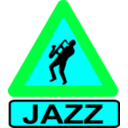download Caution Jazz clipart image with 135 hue color