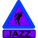 download Caution Jazz clipart image with 225 hue color