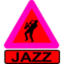 download Caution Jazz clipart image with 315 hue color