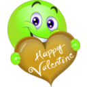 download Happy Valentine Boy Smiley Emoticon clipart image with 45 hue color