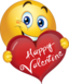Happy Valentine Boy Smiley Emoticon