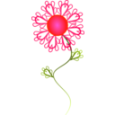 download Sunny Crazy Flower clipart image with 315 hue color