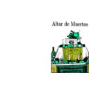 download Altar De Muertos clipart image with 135 hue color