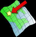 Ruffled Map