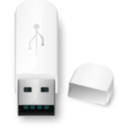 download Usb Flash Drive clipart image with 135 hue color
