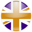 download United Kingdom Flag clipart image with 45 hue color