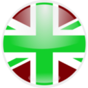 download United Kingdom Flag clipart image with 135 hue color