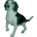 download Beagle Small Version clipart image with 135 hue color
