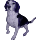 download Beagle Small Version clipart image with 225 hue color