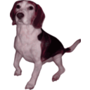download Beagle Small Version clipart image with 315 hue color