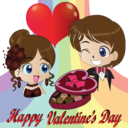 Valentine Day Smiley Emoticon