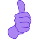 download Thumbs Up Nathan Eady 01 clipart image with 225 hue color