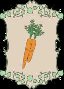 Garden Sign Carrots