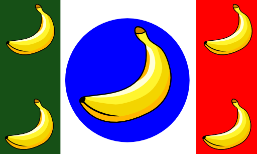 It Remix Banana Republic Flag