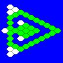 Hex A Hop Triangular