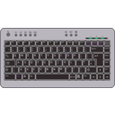 download Btc6100c Uk Compact Keyboard clipart image with 45 hue color