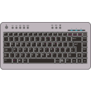 download Btc6100c Uk Compact Keyboard clipart image with 90 hue color