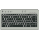 download Btc6100c Uk Compact Keyboard clipart image with 225 hue color