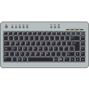 download Btc6100c Uk Compact Keyboard clipart image with 315 hue color