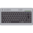 download Btc6100c Uk Compact Keyboard clipart image with 0 hue color