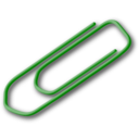 Green Paperclip