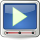 Tango Styled Video Player Icon
