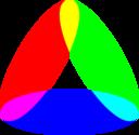 3 To 1 Ellipse Color Mix