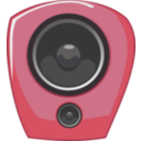 download Loudspeaker In Comic Style clipart image with 135 hue color