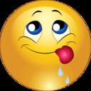 Delicious Smiley Emoticon