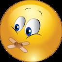 No Talk Smiley Emoticon