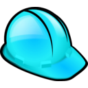 download Safety Helmet clipart image with 135 hue color