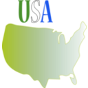 download Usa clipart image with 225 hue color