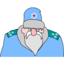 Colonel Frost Russian Military Santa Claus