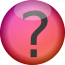 download Faq Button clipart image with 315 hue color