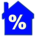 download Home Loan Interest Rate clipart image with 225 hue color